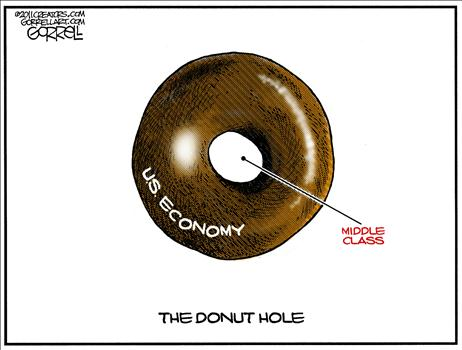 middle class donut hole