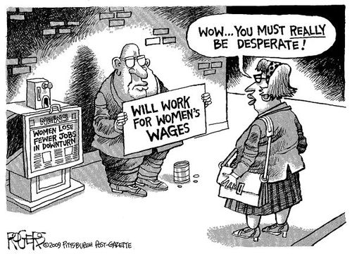 women's wages