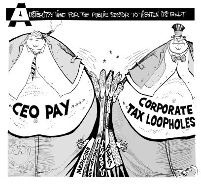 ceo-pay-squeezing-everyone-cartoon