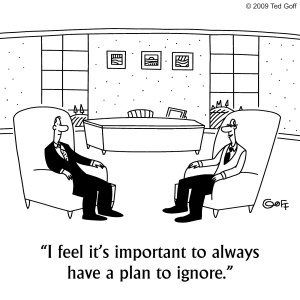 plan to ignore